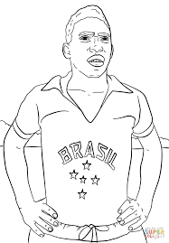 Messi Coloring Pages Color Bros