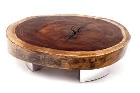 round reclaimed wood coffee table light mango amusing brown