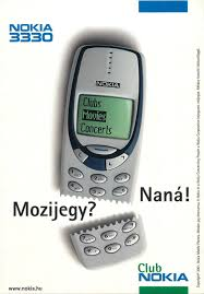 Nokia 3330 Cell Phone Advertising ...