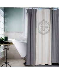grey and brown shower curtain. vintage house coquelicots shower curtain in grey and brown u