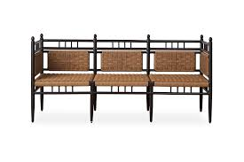 low country 3 seat garden bench