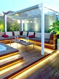 Backyard Deck Design Ideas Amazing Modern Patio Plans And Ideas Elevated Deck Decks Wood Alpmediaco