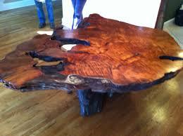 rustic tree furniture. md live edge burl wood table rustic tree furniture e