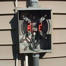 how to wire an electric meter connect the feeder wires electric meter wired