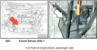 i got this code and i dont know were the knock sensor is i got this code and i dont know were the knock sensor is audiworld forums