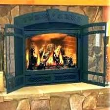 fireplace glass door installation fireplace door installation