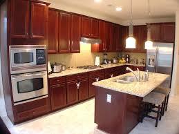 kitchen backsplash light cherry cabinets. Cherry Cabinets In Kitchen Inspiration Ideas . Backsplash Light T