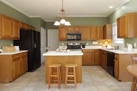 Perfect Painting Oak Kitchen Cabinets White Image Of Paint Colors Throughout Design Decorating