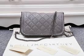 Brand Mini Cross Body Bag Stella Mccartney Falabella Dark Grey ... & Brand Mini Cross Body Bag Stella Mccartney Falabella Dark Grey Quilted Adamdwight.com