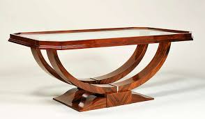 Brilliant Art Deco Coffee Table Art Deco Style Coffee Table Iliad Design  For Sale At 1stdibs