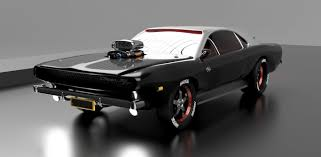 1970 Dodge Charger R/T|Autodesk Online Gallery