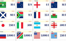 Rugby World Cup 2019 Sweepstake Kit Download And Print