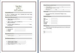 Resume Format Word File Download New 15 Cv Template Uk Bizmancan Com
