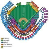 Rangers Seating Chart Seating Chart Of Safeco Field Seattle Mariners Texas