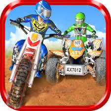 Вождение Контрольная работа Гонки игры на Андроид dirtbike vs atv motocross race