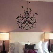 chandelier wall sticker