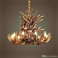 deer antler chandelier for charming beautiful with crystals