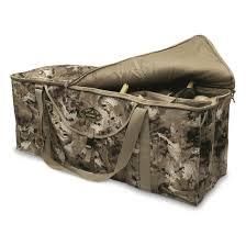 Rigem Right 12 Slot Deluxe Duck Decoy Bag Gore Opitfade Waterfowl Marsh