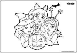 Nick Jr Coloring Pages Elegant Dora And Friends Coloring Pages