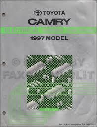 1997 toyota camry wiring diagram manual original