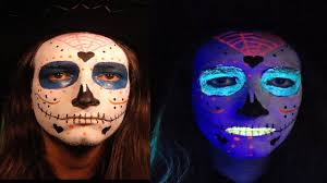 day of the dead mexican sugar skull makeup tutorial