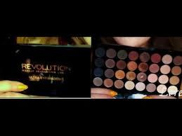 makeup revolution 32 ultra eyeshadows recenzja pierwsze wrażenie you