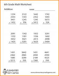 Math worksheets 6 th grade useful depict 6 standard met products ...