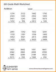 Math worksheets 6 th grade basic picture multiplication – ideastocker