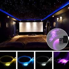 Diy Star Light Ceiling Us 12 46 46 Off 150pcs 0 75mm X 2m Rgb Fiber Optic Lights Diy Led Strips Star Ceiling Light Romantic Decor Kit For Fiber Optic Light Machine In