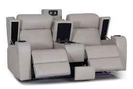 furniture two seater recliner sofa incredible terrific grey leather reclining sofas pertaining to 20