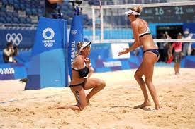 Americans win beach volleyball gold ...