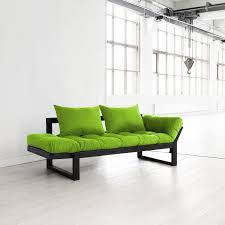 fresh futon  edge (orange natural frame)  fresh futon  touch