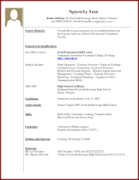 Sample Resume With No Work Experience College Student Free