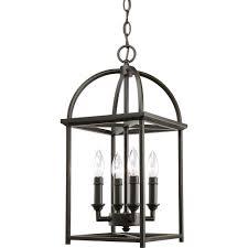 piedmont collection 4 light antique bronze foyer pendant