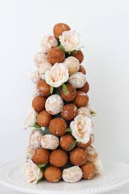 Diy Croquembouche Inspired Tower A Piece Of Coral Blog