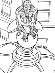 Spiderman Kleurplaten Topkleurplaatnl
