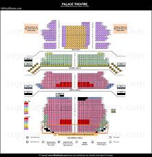 Palace Theatre London Seat Map And Prices For Harry Potter