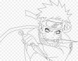 line art coloring book manga drawing fan art lineart naruto