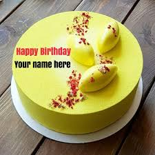 86187644 Yummy Pineapple Birthday Cake With Name For Momget Your