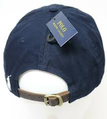polo ralph lauren 1967 mens classic hat navy one size leather strap