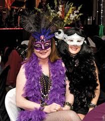 Dressed In Their Mardi Gras Best