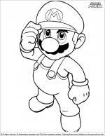 For more info on mario bros go here. Super Mario Brothers Coloring Pages Coloring Library