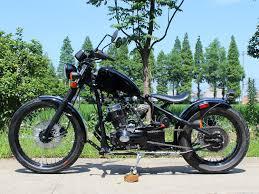 250cc motorcycle custom chopper old school