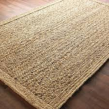 chunky boucle braided jute rug available in 2 colors gray