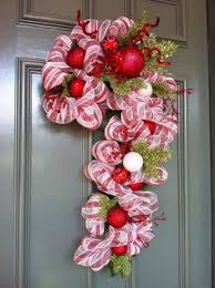 11 Best Candy Cane Crafts And Ideas  Healthy Mama InfoCandy Cane Wreath Christmas Craft