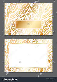 Empty Invitation Card Design Luxury Invitation Card Empty Space Your Stock Vector