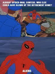 no more excuses spiderman