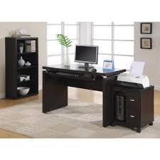 computer desktop furniture. Monarch Specialties Cappuccino Desk With Keyboard Tray Computer Desktop Furniture