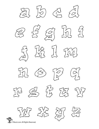 Templates Alphabet Letters Alphabet Letters To Print And Cut Out Lowercase Lower Case