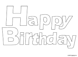 Happy Birthday Mickey Mouse Coloring Pages Minnie Sheets Free Color
